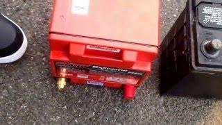 EnerSys Odyssey AGM Battery In A 2011 Honda CRV. Minor Modification. PC925MJT