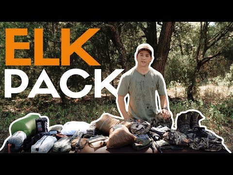 What's In My Pack | 3-5 Day Elk Hunt Gear List
