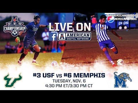 2018 American Men's Soccer Championship First Round - #3 USF Vs #6 Memphis