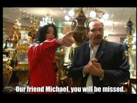 Michael Jackson goes shopping in Las Vegas