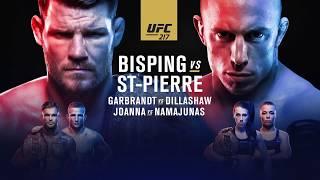 En route vers l'UFC 217 : Bisping vs St-Pierre en VOSTFR