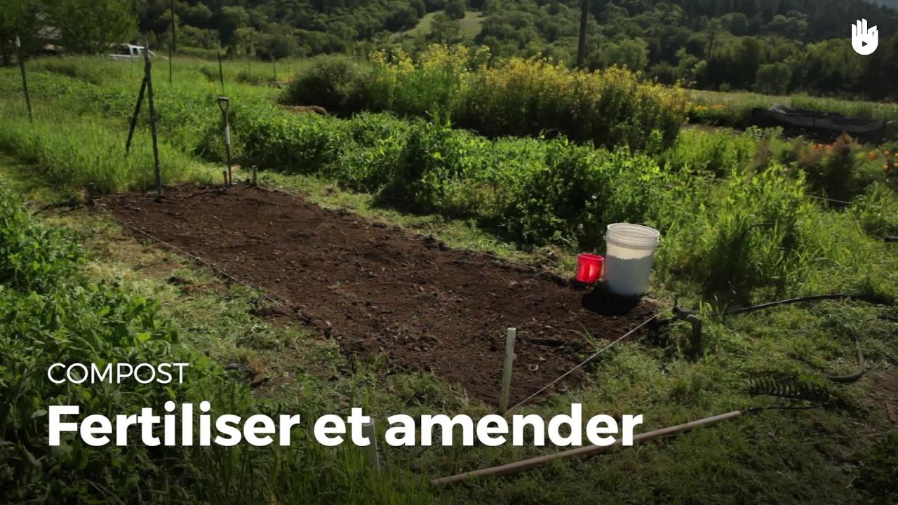 Comment fertiliser et amender  Compost DIY