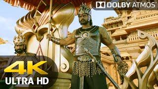 4K UHD ● Coronation Rebel (Baahubali 2 - Hindi) ● Dolby Atmos
