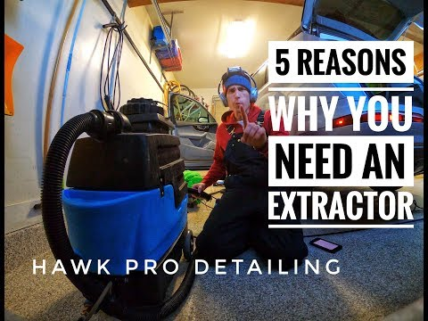 Do you need an extractor for auto detailing? YES -- here are 5 reasons why.