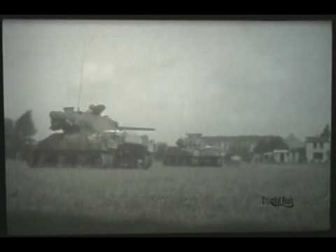 3rd Armored Division in The Liberation of Western Europe, WWII Combat Film 1944