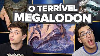 O TERRÍVEL MEGALODON
