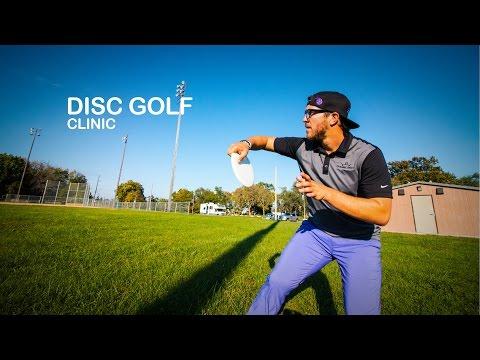 Eric Oakley Disc Golf Clinic | Putting