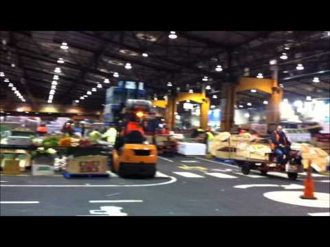 Melbourne MARKETS visit 2014