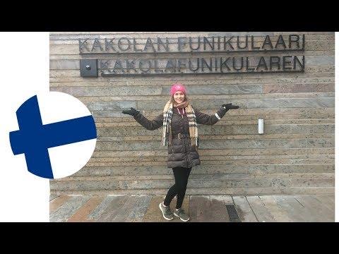 Going Up The Turku Funicular   KatChats