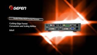 Gefen New Products 2015 - Multi Function Processor / Scaler - HDMI, DVI, VGA - EXT-MFP
