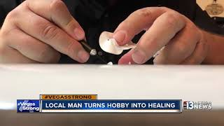 Disabled man hopes hobby helps with 1 October healing