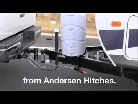 Andersen Hitches Weight Distribution Hitch with ground-breaking Anti-Sway, Anti-Bounce