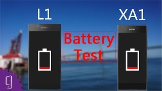 Sony Xperia L1 vs XA1 Battery Test | Charging Test | Battery Drain Test