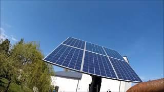 Fotowoltaika solar tracker maszt obrotowy cz 4. darmowa energia ,elektrownia ,solarna fotowoltaiczna