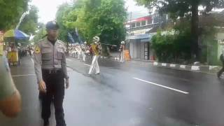 Marching band dlm rangka hari jadi kota rembang