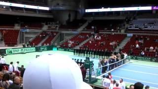 Davis Cup 2016 Poland vs Argentina Ergo Arena Gdansk - here we go!