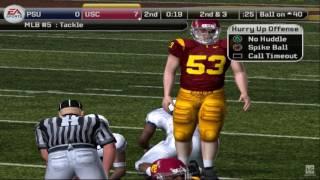 NCAA Football 09 PS2 Gameplay HD