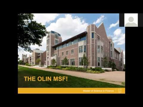 Program Overview: Master of Science in Finance