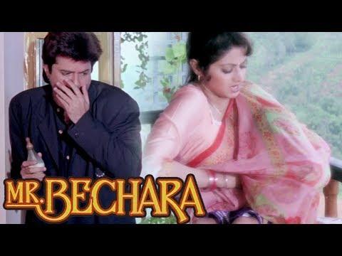 Sridevi Tries To Feed Anil Kapoor's Child - Scene 2 | Anupam Kher | Mr.Bechara