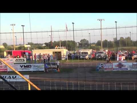 LMSS TOURING SERIES HEAT 2 RAPID SPEEDWAY JULY 29,2016