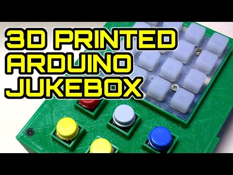 3D Printed Arduino MP3 Jukebox - Show and Tell