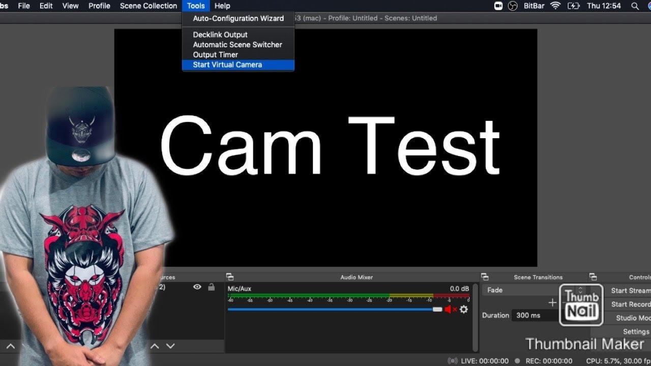 Webcam xxd