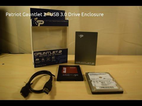 NEW DRIVERS: PATRIOT GAUNTLET USB 3.0 ENCLOSURE