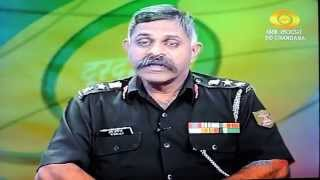 Sainik School Bijapur GJ, Interview of Shri Shivayogi & Col R Balaji by DD, telecast on 23 Sept 2013