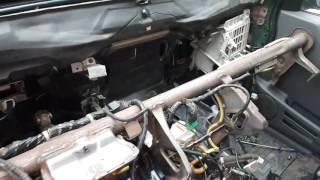 Замена радиатора печки Сузуки Гранд Витара XL-7