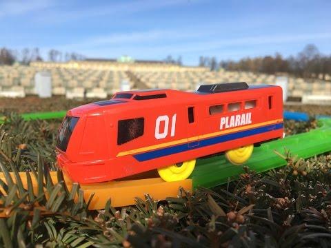Plarail Expo 01 Train visit Lustgarten, Park Sanssouci, Potsdam, Germany (03845)