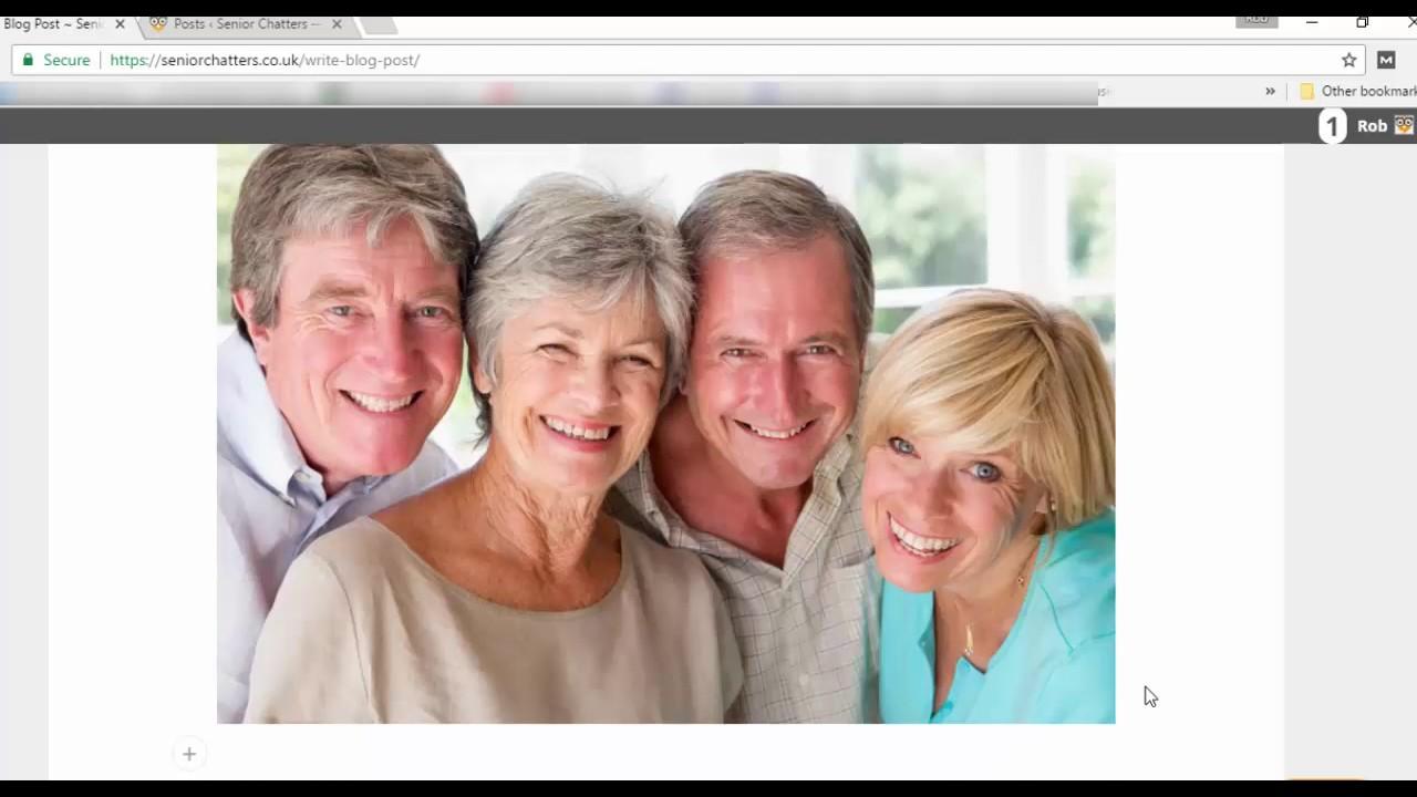 Senior chatters co uk login