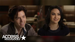 riverdale cole sprouse camila mendes on their characters family dramas