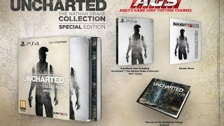 Uncharted Nathan Drake Collection [Special Edition] (PS4 - Region 2) Unboxing Video