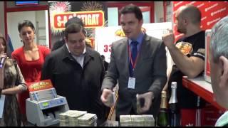 Inmanarea premiului Mega Jackpot in valoare 331.288,84 lei - Brasov 20 martie 2014