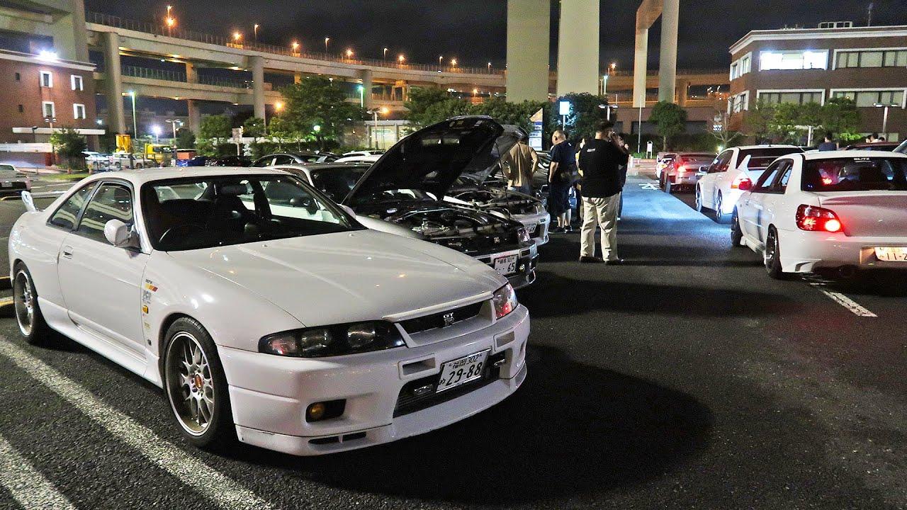REAL JAPANESE CAR MEET IN JAPAN! - YouTube