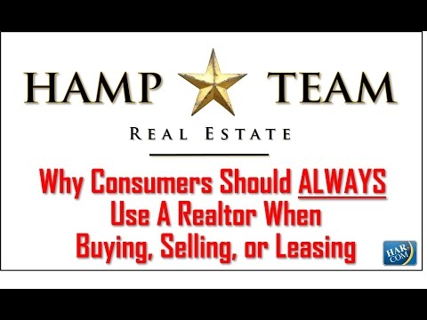 Why Consumers Should Always Use A Realtor When Buying, Selling, or Leasing Property