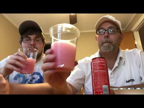 The Beer Review Guy# 1117 Rockstar BOOM! Blended & Whipped Strawberry Energy Drink