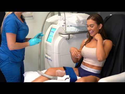 Chrysti Ane gets CoolSculpting at Aesthetic Body Solutions