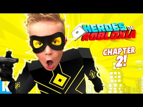 Little Flash has Super Speed!! Heroes of Robloxia Chapter 2! KIDCITY GAMING