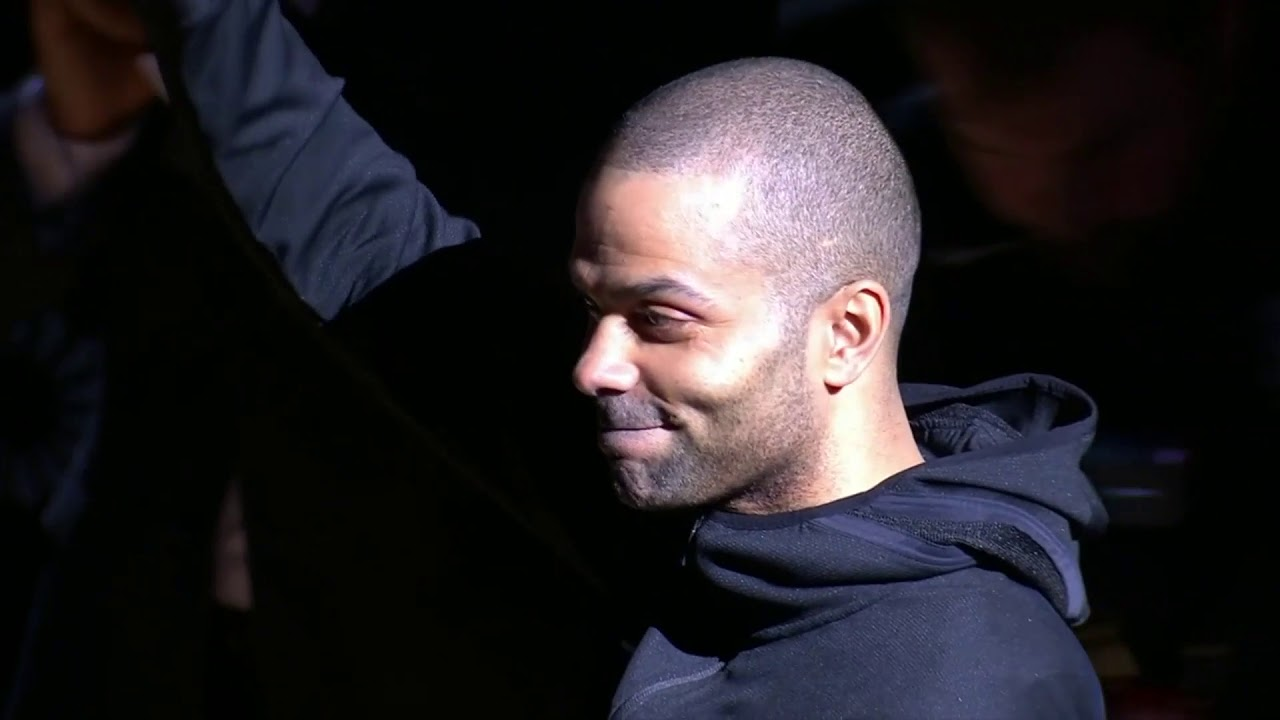 'It Was an Honor to Play for You Guys': Spurs Retire Tony Parker's ...