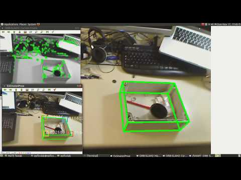 [Extended Demo] Robust 3D Object Trackinf fro Monocular Images using Stable Parts