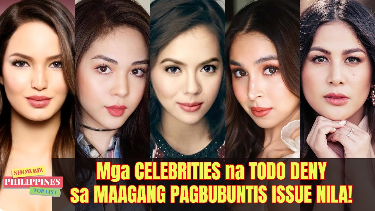 Mga ARTISTA na TODO DENY sa MAAGANG PAGBUBUNTIS ISSUE NILA!