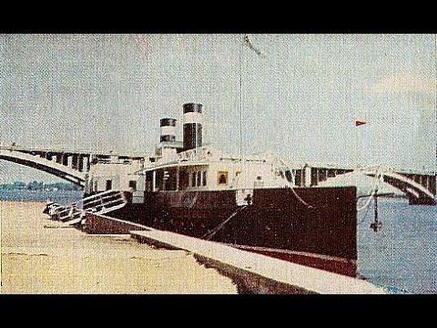 Редчайший пароход 19-го века. Экскурсия по Красноярску. Часть 1.