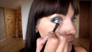 Видео урок макияж ПЕТЛЯ, БАНАН, ЕВРОПЕЙСКИЙ