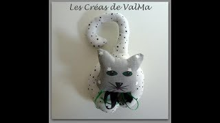 Chat A Suspendre Pour Decoration Tuto Couture Valma Creas Youtube