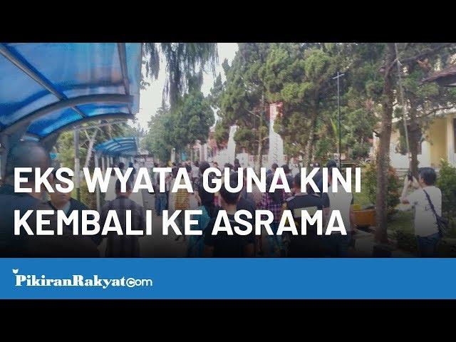 Eks Wyata Guna Kini Kembali ke Asrama