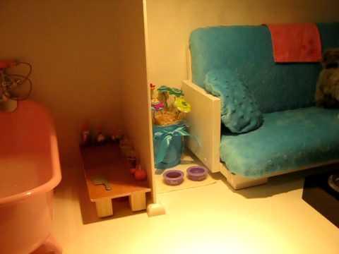 my american girl doll house youtube