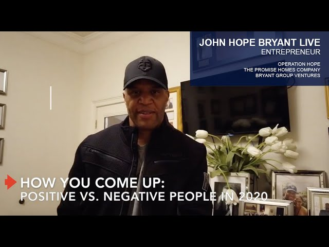 How You Come Up: Positive vs. Negative People in 2020
