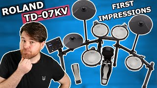 Roland TD-07KV Kit TESTED - Feature Overview, First Impressions & Sounds Demo | Electronic Drums