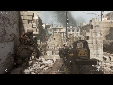 Very Epic City Combat from Nostalgic fps Game Call of Duty Modern Warfare Remastered thumbnail